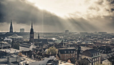 A fantastic view over Copenhagen's rooftops