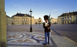 Denmark, Zealand, Copenhagen, Amalienborg Palace, Scandinavia, The Sound, ??resund, .