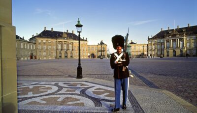 Denmark, Zealand, Copenhagen, Amalienborg Palace, Scandinavia,